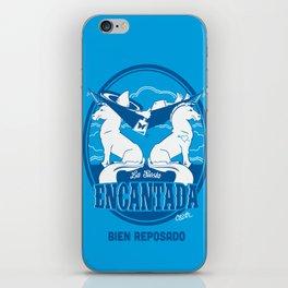 La Siesta Encantada, Bien Reposado • The Best Tequila TShirt! iPhone Skin