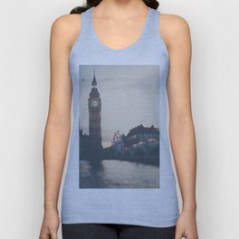 sunset over the city ... Unisex Tank Top