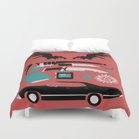 supernatural Duvet Covers featuring Supernatural by Abbie Imagine