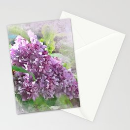 Soft Lilac Stationery Cards