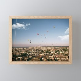 Balloons Over Bristol Framed Mini Art Print