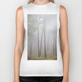 """Deep forest"". looking for the sun .... Biker Tank"