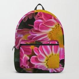 Fleurette Daisies WC 2 Backpack