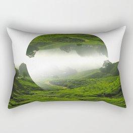 Green Haven Rectangular Pillow