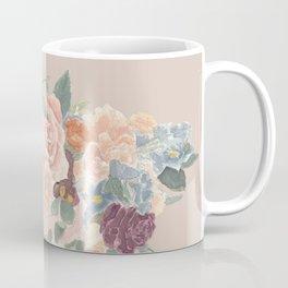 Blush Watercolor Bouquet Coffee Mug