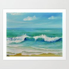 SEASCAPE II Art Print