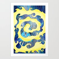 Time Vortex Art Print