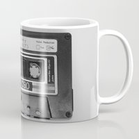 tape Mugs featuring Tape by RMK Photography