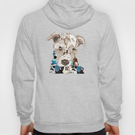 a pit bull day Hoody