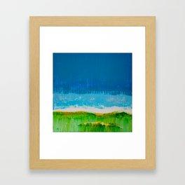 Pairie Morning Framed Art Print