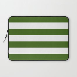 Simply Stripes in Jungle Green Laptop Sleeve
