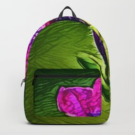 Gentian Passion | Painting  Backpack
