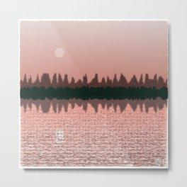 Moonscape #466,750,983 Metal Print