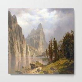 Albert Bierstadt Yosemite Valley Metal Print