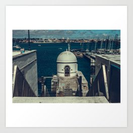 Portugal travel diary by dayDREA Art Print