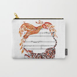 The Tiger and the Phoenix Carry-All Pouch