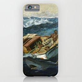 Winslow Homer1 - The Gulf Stream - Digital Remastered Edition iPhone Case