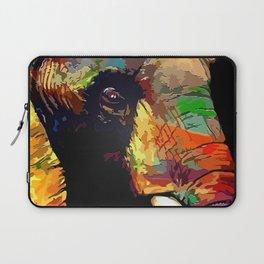 Colorful Elephant Laptop Sleeve