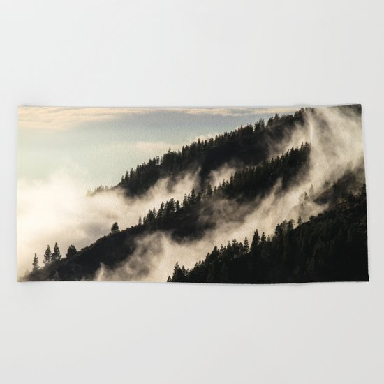 A Song Of Trees Beach Towel