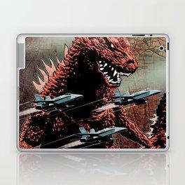 Godzilla Cover Art G-Fan Magazine Laptop & iPad Skin
