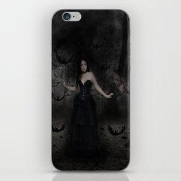 Mistress of the Bats iPhone Skin