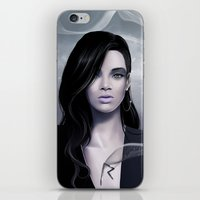 rihanna iPhone & iPod Skins featuring Rihanna by Nicolas Jamonneau