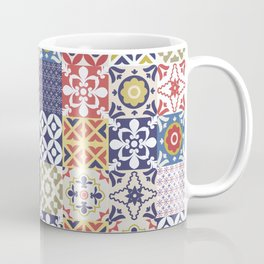 Portuguese pattern color Coffee Mug