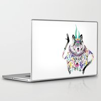 vogue Laptop & iPad Skins featuring Vogue by Tania Orozco