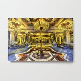 Vincent Van Gogh Palace Metal Print