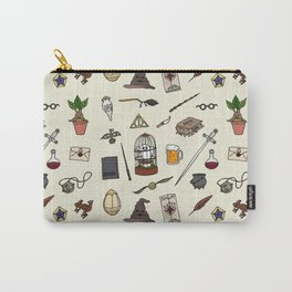 Potter Harry pattern Carry-All Pouch