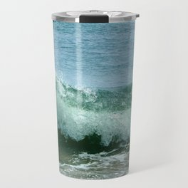 Crash of green Travel Mug