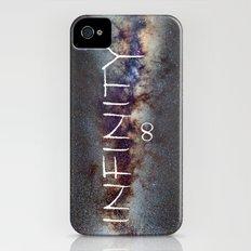 INFINITY STARS IN THE MILKY WAY ∞ Slim Case iPhone (4, 4s)