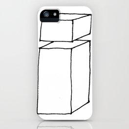 3D letter i iPhone Case