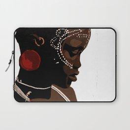 Mursi girl Laptop Sleeve