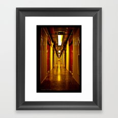 Hallway of Sentiment Framed Art Print
