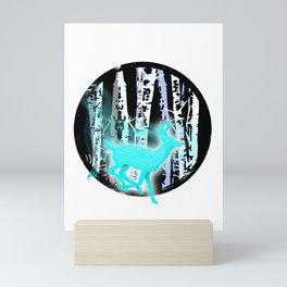 Magic in the Birches Mini Art Print