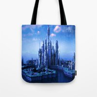 stargate Tote Bags featuring The lost city by Samy