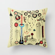 Mystery Cell Throw Pillow