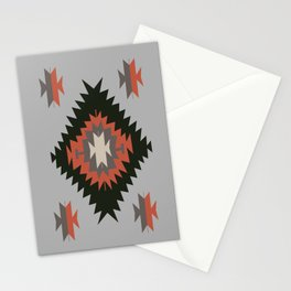 New Mexico Southwest Santa Fe Tribal Indian Pattern Stationery Cards