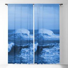 Ocean Blue Blackout Curtain