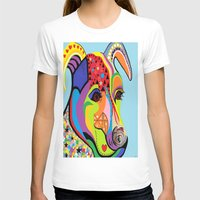 jack russell T-shirts featuring Jack Russell Terrier by EloiseArt