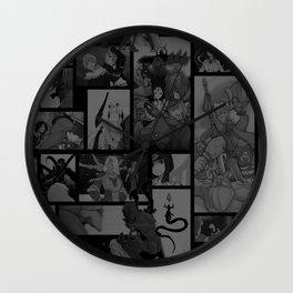 SMITE Comics Moment Montage Wall Clock