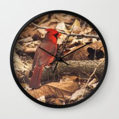Bird of Ohio Wall Clock
