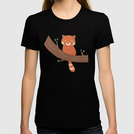 Kawaii Cute Red Panda T-shirt