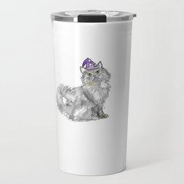 Cat Wizard Travel Mug