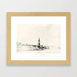 Venice - Study 66 Framed Art Print