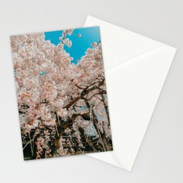 Pink Sakura Tree Stationery Cards