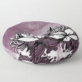 Flower Tangle Floor Pillow