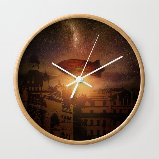 A Trip down the Sunset II Wall Clock