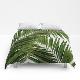 Palm Leaf III Comforters